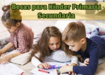 Becas en Veracruz para primaria kínder y secundaria