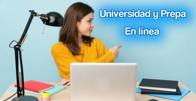 ¡Estudiar la prepa y universidad en línea!