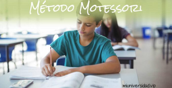¿Conoces el método Montessori?