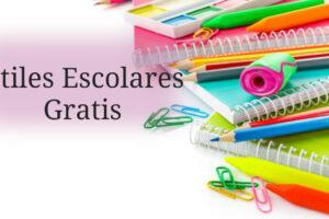 ayudas de útiles escolares para tus hijos