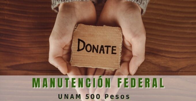 Beca de manutención UNAM